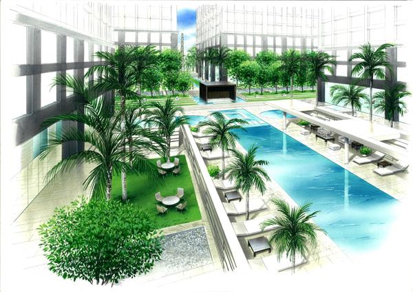 台湾台中山坡地住宅開發案