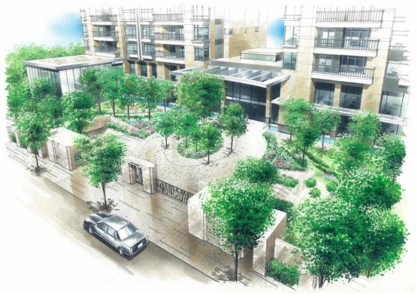 台湾台中七期豪宅開發案