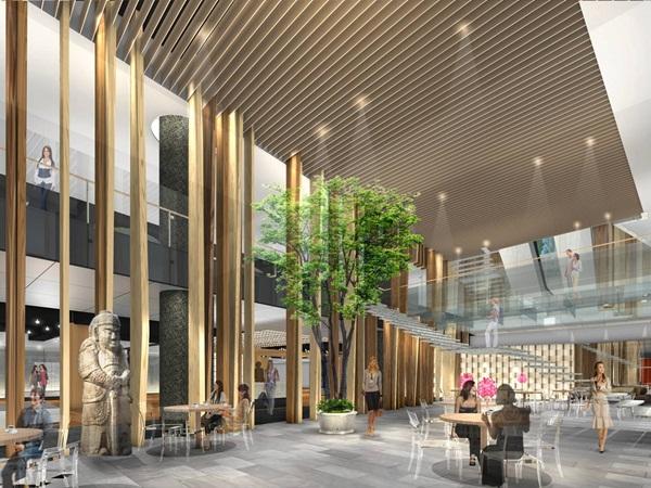 台灣土地開發承徳路商場設計案